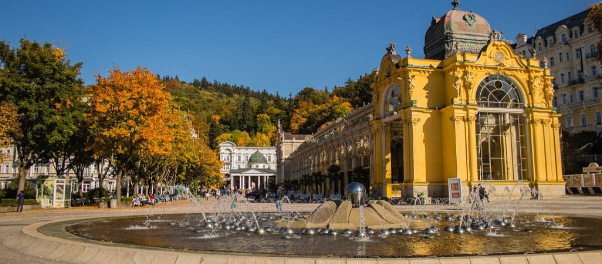 Marienbad In Tschechien Spa Hotels Kurhauser