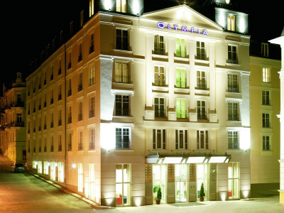 First Class Hotel Olympia in Marienbad